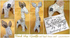 Petal the giraffe by weebird on DeviantArt