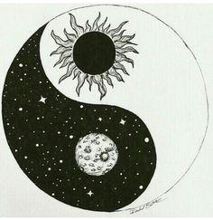 Yin + Yang / The Moon + Sun