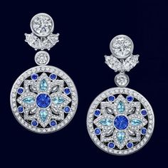 Amazingly distinctive with these one of a kind reversible earrings. A total of .84carats of brilliant sapphires .45 aquamarines and a total of 438 marquise pear shaped and round brilliant diamonds weighing 7.43carats set in platinum by @harrywinston . #purplebyanki #luxury #loveit #jewelry #jewelrydesign #jewelrydesigner #gold #jewelrydesign #finejewelry #luxurylifestyle #instagood #follow #instadaily #lovely #beautiful #dubaifashion #dubailife #mydubai #beautiful #love #jewelgoals #fashion