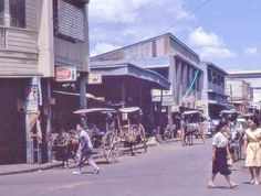 Calle Legarda 1960s (*ctto) Pinoy, Manila, Philippines, Drawer, Past, Street View, Pictures, Street, Photos