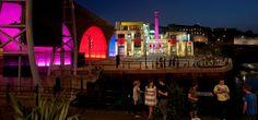 De verlichting van de 'Toffee Factory' is in 2011 gerealiseerd door Stainton Lighting Design Services en Philips LED products. | #PhilipsLicht #Light #Newcastle #architecture #design #LED #PowerCore