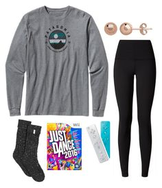 """""""Playing just dance"""" by classygrace ❤ liked on Polyvore featuring Patagonia, lululemon and UGG"""