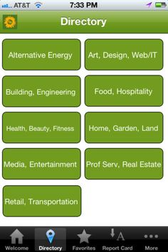 The Green Alliance is your local resource for huge savings at sustainable businesses throughout New Hampshire, Massachusetts, and Maine! Our iPhone app is your mobile portal into the Green Alliance Community. You will find a directory of all of the Green Alliance Business Partners along with their membership discount, contact information, locations, and GPS guided directions  https://itunes.apple.com/app/id529513646