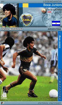 "Legends Cards: ""El Pelusa"" Diego Maradona"