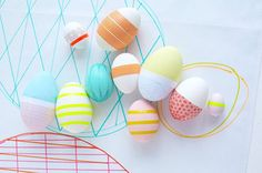 54 Incredible Easter Egg Decorating Ideas via Brit   Co