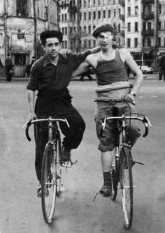 Москва 1950-х, Россия.