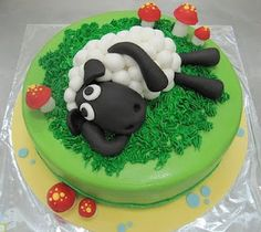 Eid Lamb cake :-) They did an amazing job with this cake. Love it!