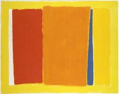 Color Series 8-71 by John Opper. His career encapsulates much of what transpired in advanced American art in the middle decades of the 20th century. He joined the easel division of the W.P.A., switched from realism to abstraction, helped to found the American Abstract Artists group, had his first New York solo show the next year, wrestled some more with the realist-abstractionist issue, and then, by the 1950's, became a New York School-style gestural painter. (New York Times)