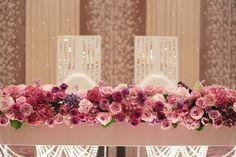 春の装花 バラの装花 パレスホテル立川様、 ローズルームへ : 一会 ウエディングの花