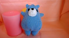 New Knitted Blue Bear Toy Bear Plush Baby Toy Bear Amigurumi Nursery Decor Baby Gift Baby Shower Gift Children's Toy Bear Decor Pale Blue by KnitAndPurlDesigns on Etsy