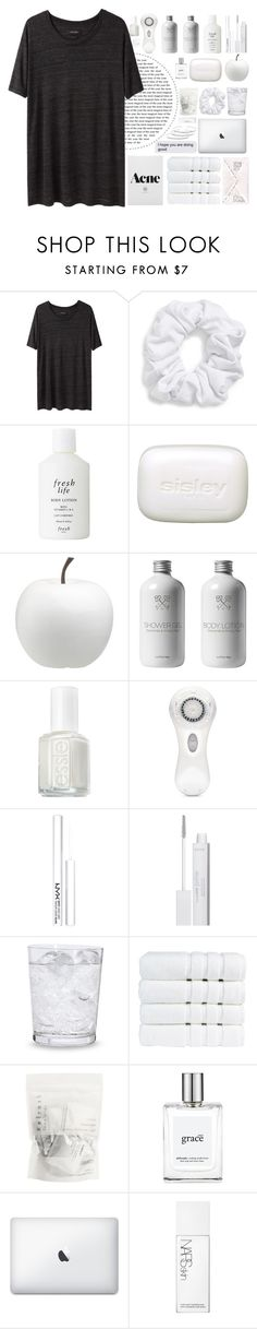 """""""::you stand with your hand on my waistline::"""" by sophiakpink ❤ liked on Polyvore featuring Isabel Marant, Natasha Couture, Fresh, Sisley, CB2, Essie, Clarisonic, NYX, tarte and Schott Zwiesel"""