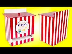 Artesanato Transformando Porta Fraldas em Porta Saquinhos de Pipocas - YouTube
