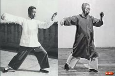 Cheng Man Ching (young and old) doing Single Whip. Makes me wonder how our practice evolves as we age.