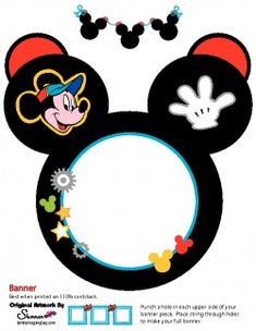 mickey banner party banners disney printables party banners mickey minnie mouse free printable