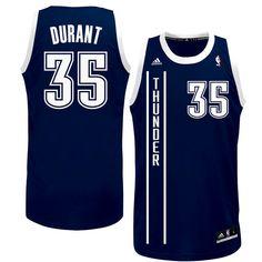 3392246c8fff Kevin Durant Oklahoma City Thunder adidas Youth Replica Alternate Jersey -  Navy Blue -  29.99