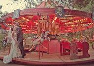 Vintage wedding carnival