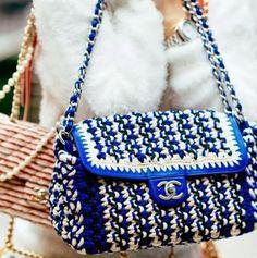 O crochê e o verão 2015 da Chanel