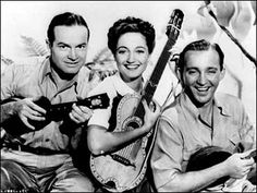 We're off on the Road to Singapore!    Bob Hope, Dorothy Lamour, Bing Crosby