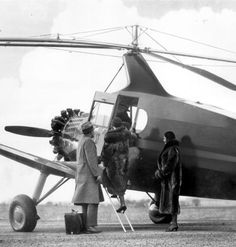 """""""Pitcairn P-19 Autogiro was the largest American autogiro built. Five were constructed but it failed to find a market due to the Depression"""" (via)"""