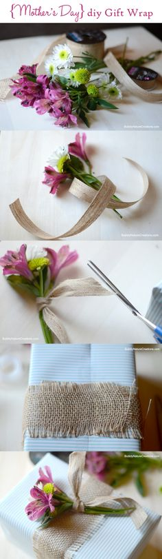 7 Remarkable DIY Gift Wrappings for Mother's Day