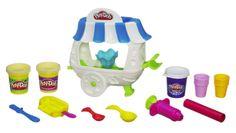 4 year old girl Fun Play-Doh Ice Cream Sundae Cart
