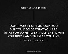 Meilleures Citations De Mode & Des Créateurs : The 50 Most Inspiring Fashion Quotes Of All Time via @WhoWhatWearUK
