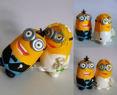 MInions cake topper wedding