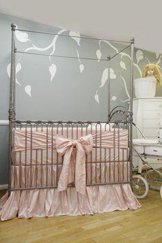 Silk Crib Bedding (Silk Sheet)
