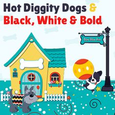 Cute dogs and bold colors make for a great classroom design! Planning this for my theme this coming school year!