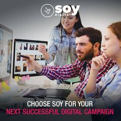 Choose SOY for your next successful digital campaign. Marketing Goals, Sales And Marketing, Digital Marketing, Digital Campaign, Seo Specialist, Campaign Manager, Business Requirements, Seo Services, Lead Generation