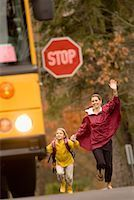 running to the school bus - Google Search
