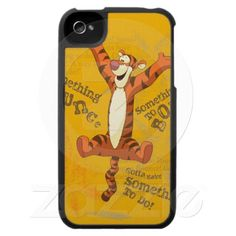 Tigger - Something to Pounce iPhone 4 Case