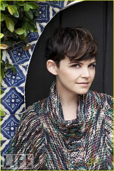 ginnifer's pixie plus bangs