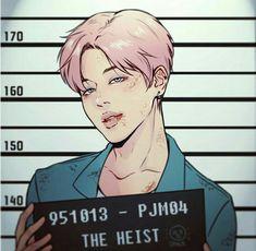Criminal!Jimin #BTS