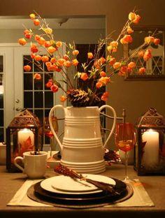 44 Incredible Autumn Table Arrangements