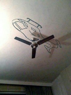 Fan helicopter
