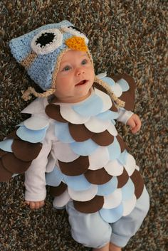 Super cute owl costume perfect for babys first halloween or newborn super cute owl costume perfect for babys first halloween or newborn pictures 20 craft ideas pinterest newborn pictures owl and costumes solutioingenieria Choice Image