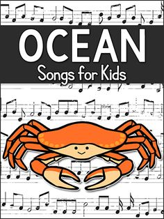 Your class will enjoy these Ocean Songs while learning during an Ocean Theme. Includes songs to sing, movement songs, and skill-based songs. To use these songs, you can play the audio through a computer& speakers, Ocean Lesson Plans, Lesson Plans For Toddlers, Preschool Lesson Plans, Preschool Music, Music Activities, Preschool Themes, Preschool Planner, Preschool Printables, Hands On Activities