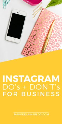 Read + REPIN: 24 DO'S and DON'Ts of Using Instagram for Business! http://jamiedelaineblog.com/post/25829/the-dos-and-donts-of-using-instagram-for-business/