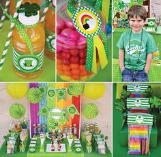 Kids St. Patrick's Day Party Ideas by Crissy's Crafts {+ FREE Printables from Amanda's Parties To Go!} http://hwtm.me/ZvVgQt