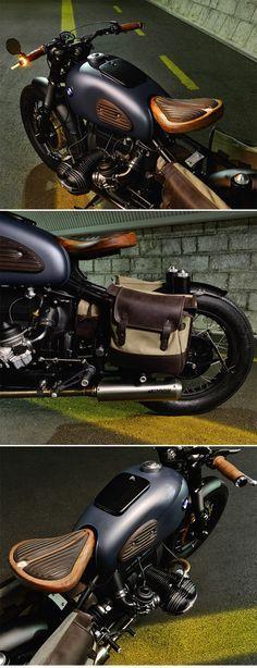 "BMW R69S Bobber ""Thompson"" by ER motorcycles http://www.caferacerpasion.com/fotos-de-motos-cafe-racer-bobber-custom-y-cultura-motera/"