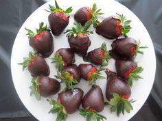 Have my niece to make her special Strawberries Nickeyberries. My Favorite Cheese Cake Strawberries