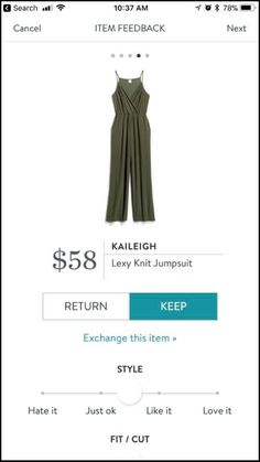 Kaileigh Lexy Knit Jumpsuit - on my wish list! Stitch Fix Outfits, Stitch Fix Stylist, Personal Stylist, Dress Me Up, Summer Outfits, Summer Clothes, Work Clothes, Style Me, Style Inspiration