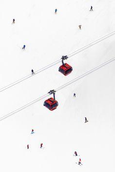 "Photographie "" Peak to Peak Gondolas "" via Goodmoods"