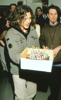 Eddie Vedder and Jim Rose