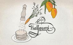 Agenturküche: Halloumi – Das ist doch Käse. #illustration #rezept #halloumi