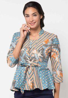 Model Baju Batik Modern Yang Tren Dan Model Baju Batik Modern Pria Dan  Wanita df5ab2faf5