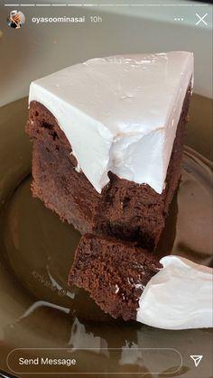 Cute Food, I Love Food, Yummy Food, I Love Chocolate, Aesthetic Food, Food Cravings, Let Them Eat Cake, Diabetes, Foodies