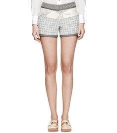 Casra Short   Womens Sale   ToryBurch.com