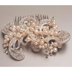 Accessories play an  important part in your outfit on your special day.  We can offer you a beautiful selection of bridal and Mother of the Bride or Groom accessories to perfectly compliment your dress or outfit.  Whether it's a stunning comb for your hair like this one with gorgeous pearl and crystal design hand made by one of our artisan suppliers or a bespoke hand bag or clutch bag hand made by us from the same fabric as your outfit nothing is impossible.  #lesleycutlerbridal…